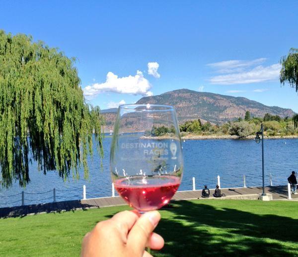 Kelowna Wine glass