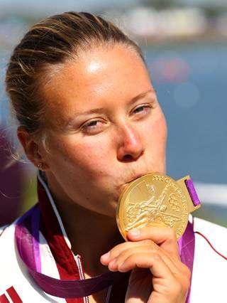 Kozák Danuta (Hungarian Olympic Champion Women's Kayak Single (K1) 500m, London, 2012)