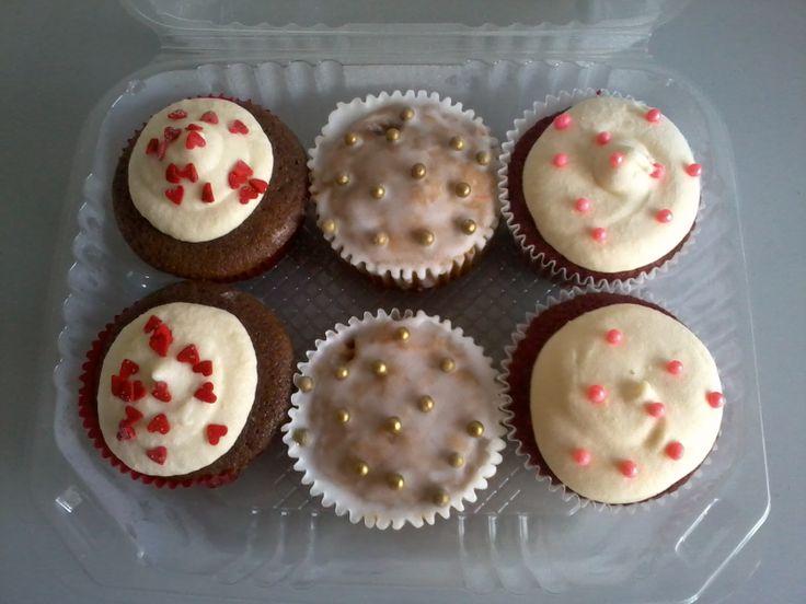 Cupcakes variados.