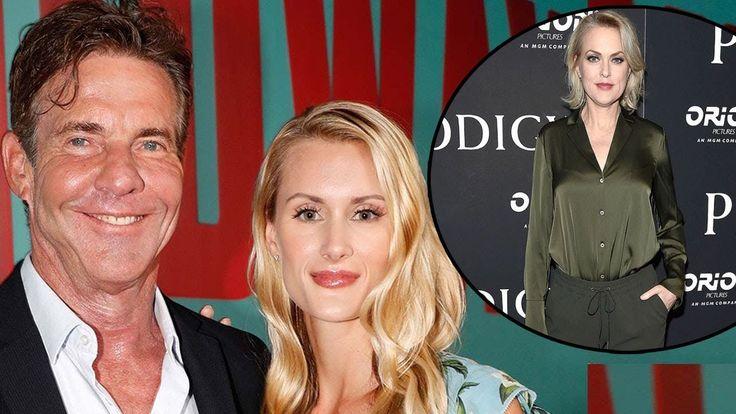 Dennis Quaid 65 Engaged Laura Savoie 26 Even Parent Trap Co Star Throwin Youtube Parent Trap Parenting