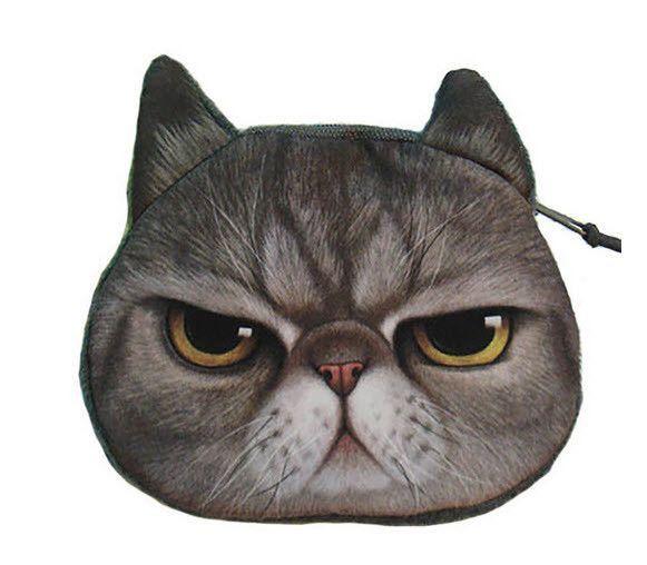 Cat Face Purse