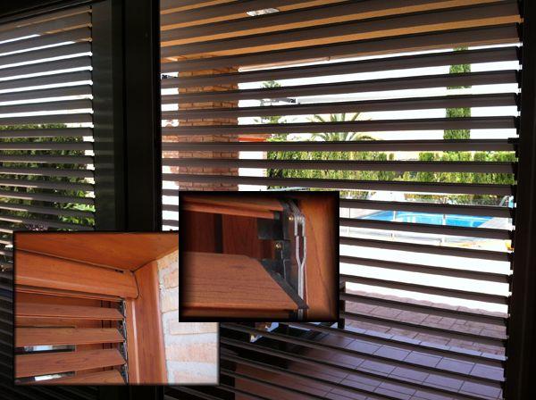 Las 25 mejores ideas sobre persianas enrollables en - Persianas de madera exteriores ...
