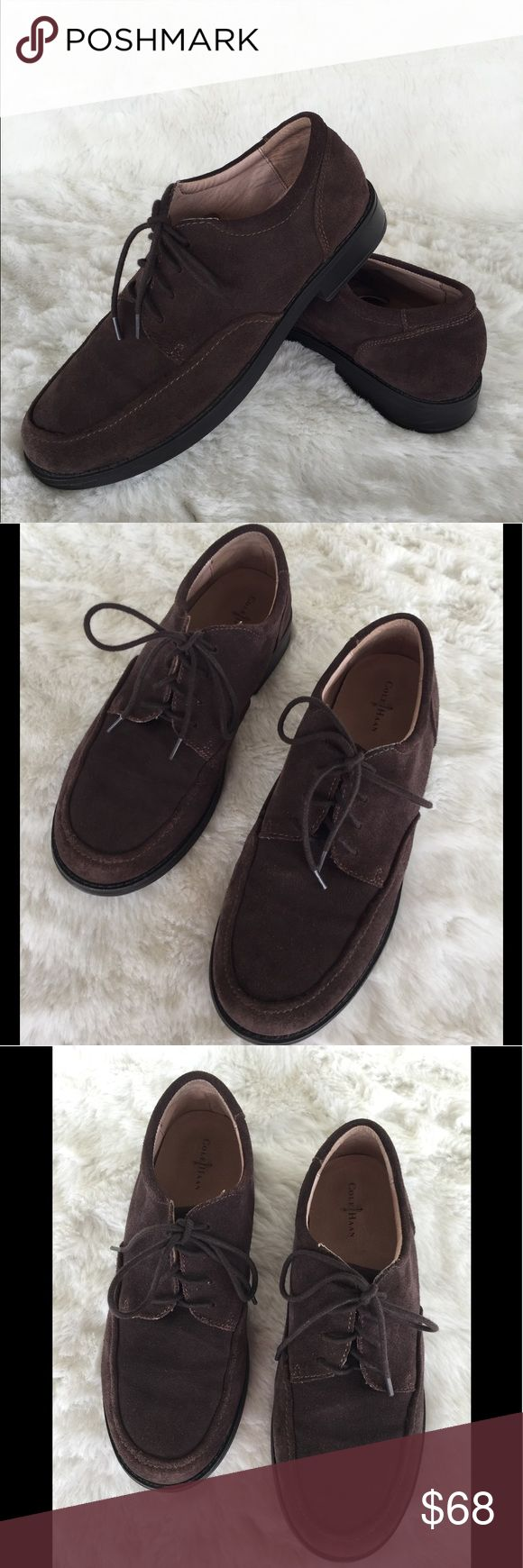 ❤️Men's Cole Haan one hour sale ❤️ Men's Cole Haan Suede Leather Oxfords  Size 7 Air ace lace Leather upper  Slightly worn Cole Haan Shoes