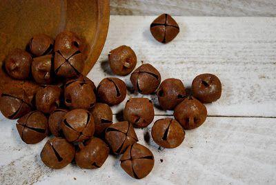 ottimo metodo per ottenere la ruggine PROVAREMaryberry Boutique: Rusty Bells