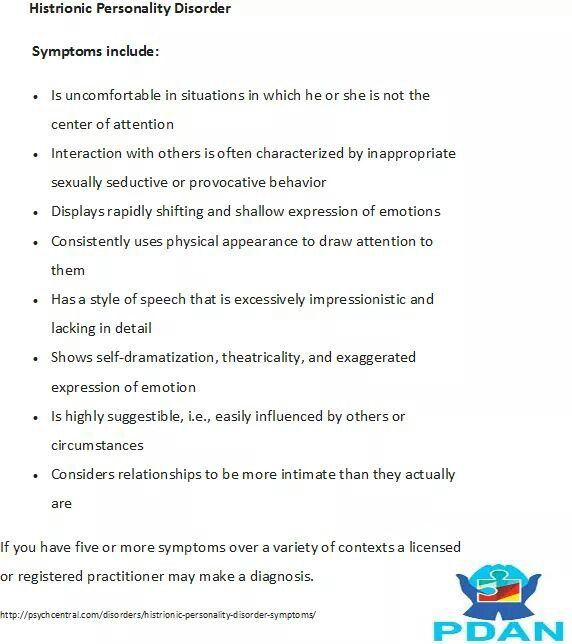 Personality Disorders Summary And Conclusion