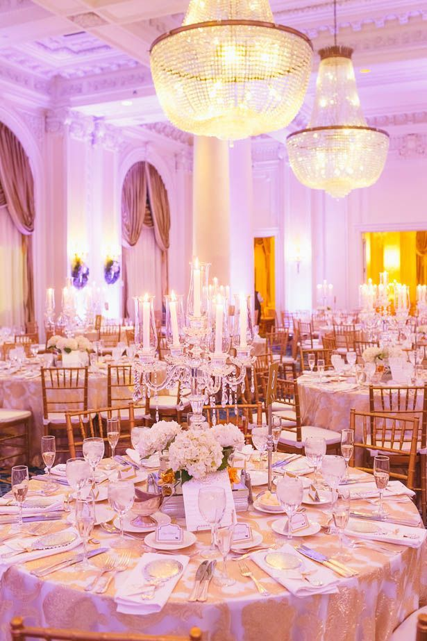 An Elegant New Years Eve Wedding With A Dash Of Fairytale Flair Reception Decoration Ideas Pinterest Ballroom And