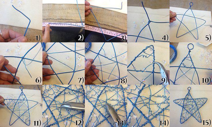 Wire Star Ornament Tutorial
