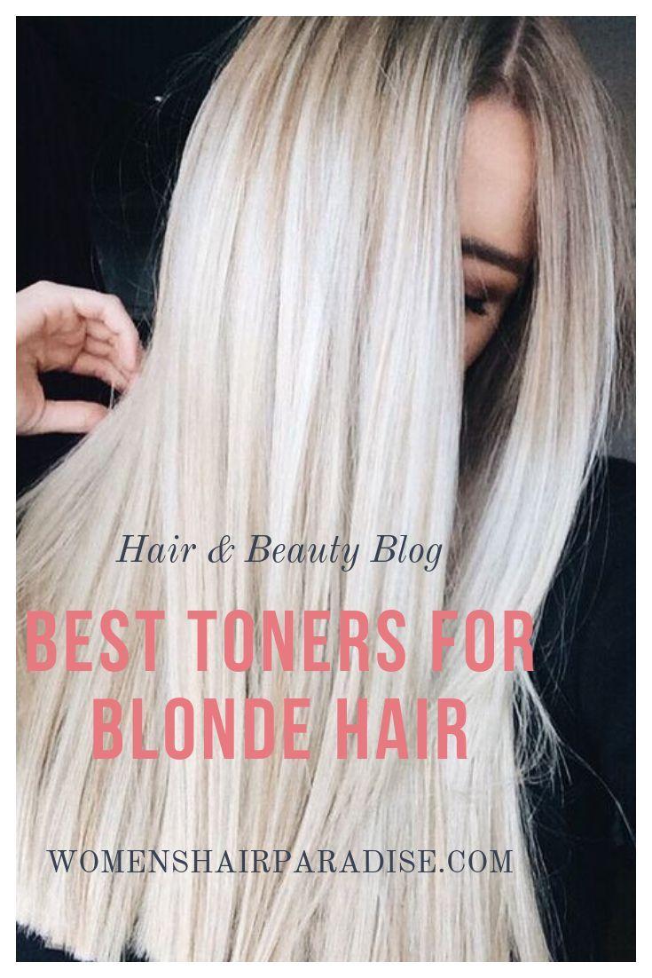 6 Best Toners For Blonde Hair Toner For Blonde Hair Best Toner