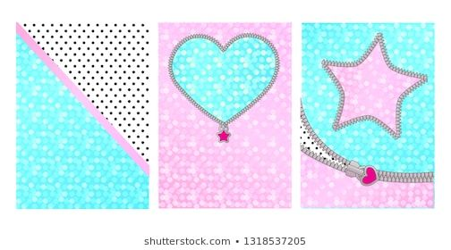 Mint pink color background with cute frame. Backdrop for