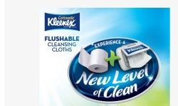 PINCH ME: Free 70,000 Samples of Kleenex Flush-Able Cleansing Cloths on Tuesday