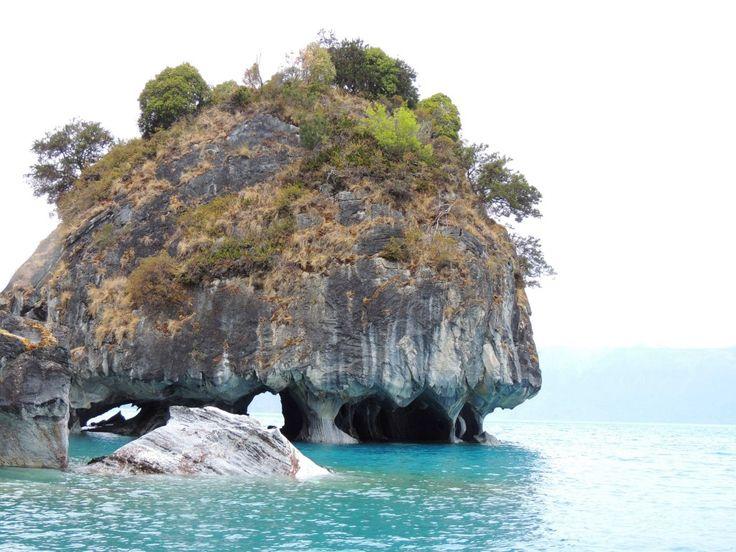 Capilla de mármol, una de las formaciones que se pueden ver en el tour