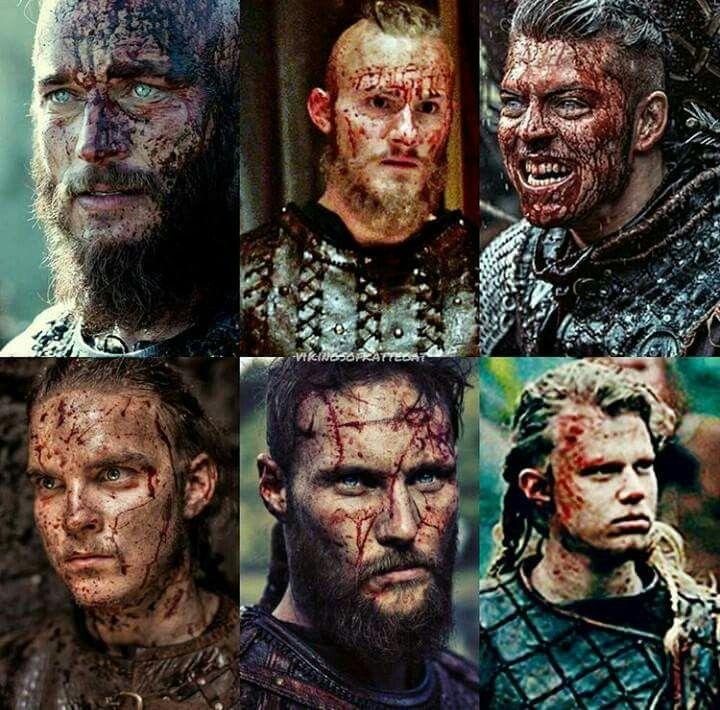 Ragnar y 4 hijos