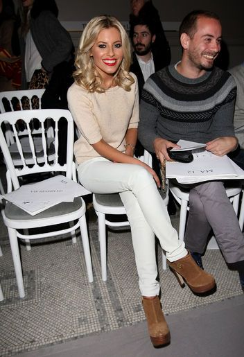 Michael Kors on How to Wear White Jeans in Winter-someday......