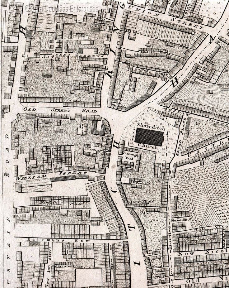 Shoreditch Map: 1000+ Images About St Leonard's Shoreditch & Christ Church