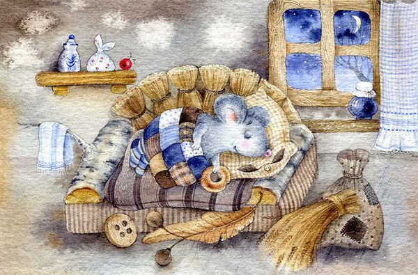 Mignonnes illustrations L ( E.R) Elina Repkina ©