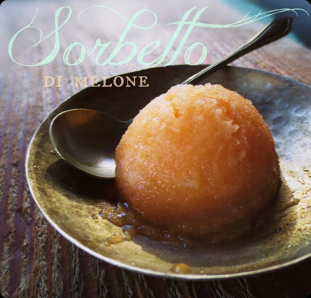 Cantaloupe Sorbet | Sweet Recipes Just Because | Pinterest