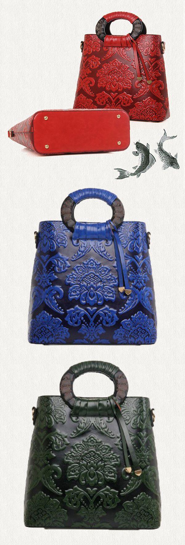 Women Floral Elegant National Handbag Embroidery Crossbody Bag