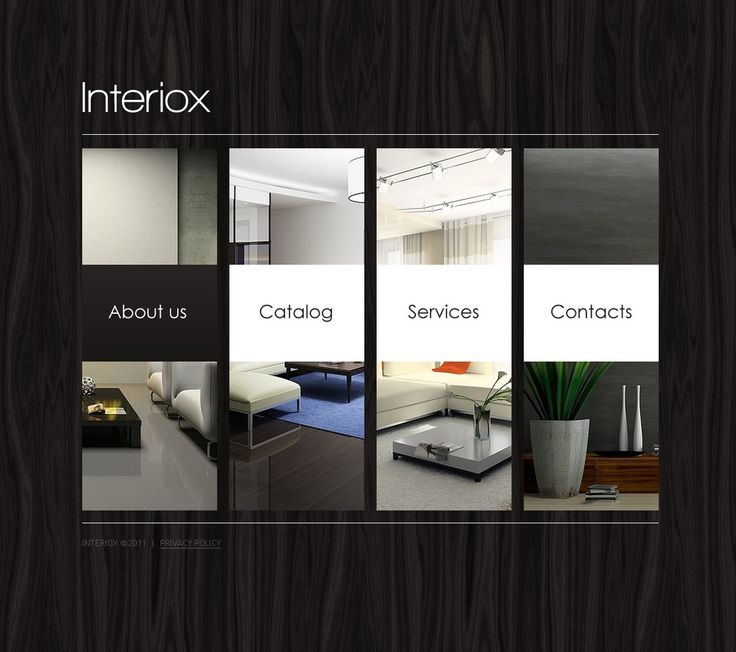 Best 25+ Interior design website templates ideas on Pinterest ...