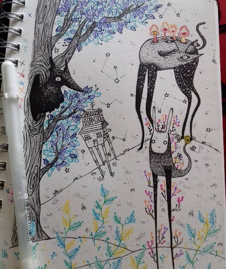 "4 Me gusta, 1 comentarios - Ñaña (@ferniska) en Instagram: ""me gustó ♡ #draw #drawgram #doodle #dibujo #dessin #boceto #sketch #sketchbook #moleskine #art…"""
