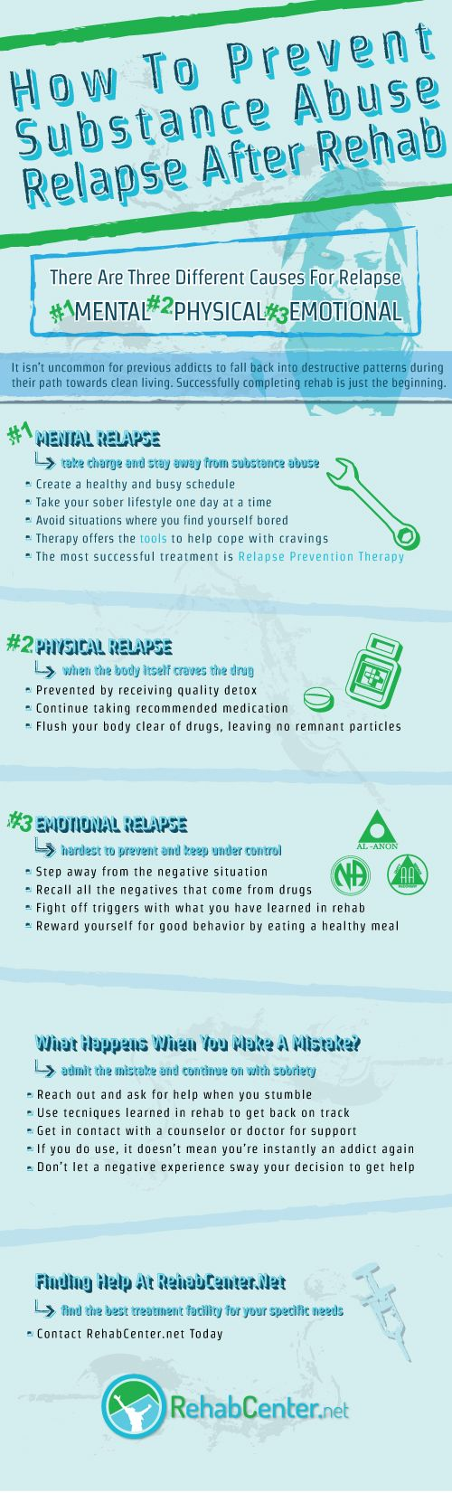 How To Prevent Substance Abuse Relapse infographic-01