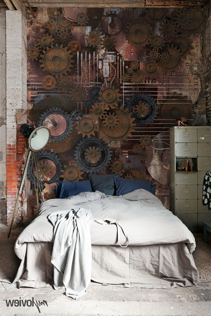 Welcome to the surreal steampunk apartment where jules verne meets tim - Cool Steampunk Bedroom Interior Decorating Design Ideas Steampunk Bedrooms And Kids Room Furniture
