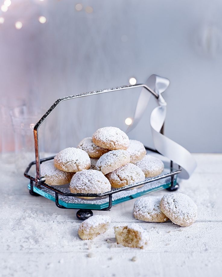 If you can bring yourself to give them away, these easy amaretti biscuits make a wonderful edible Christmas gift.
