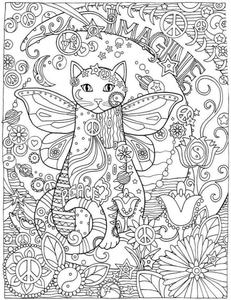 31 besten CBook: Creative Cats Bilder auf Pinterest | Malbücher ...