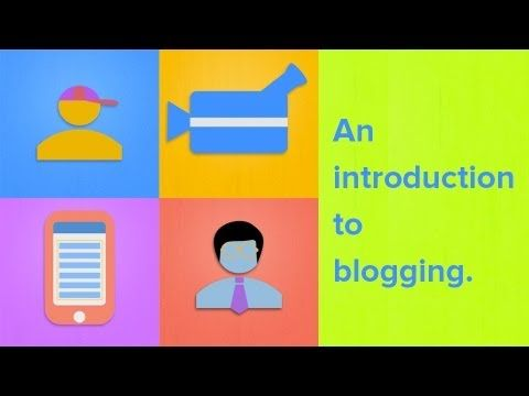 "Social Media in Health Science Blog: Why is ""What is a Blog?"" video useful? 