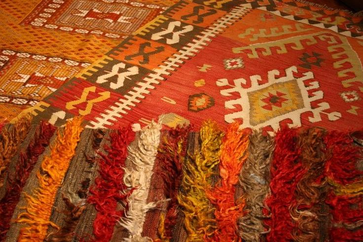 Engin Demirkol's latest designs: kilims from Ortaköy