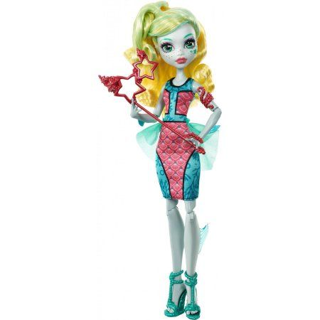 Monster High Welcome to Monster High Lagoona Blue Doll, Multicolor