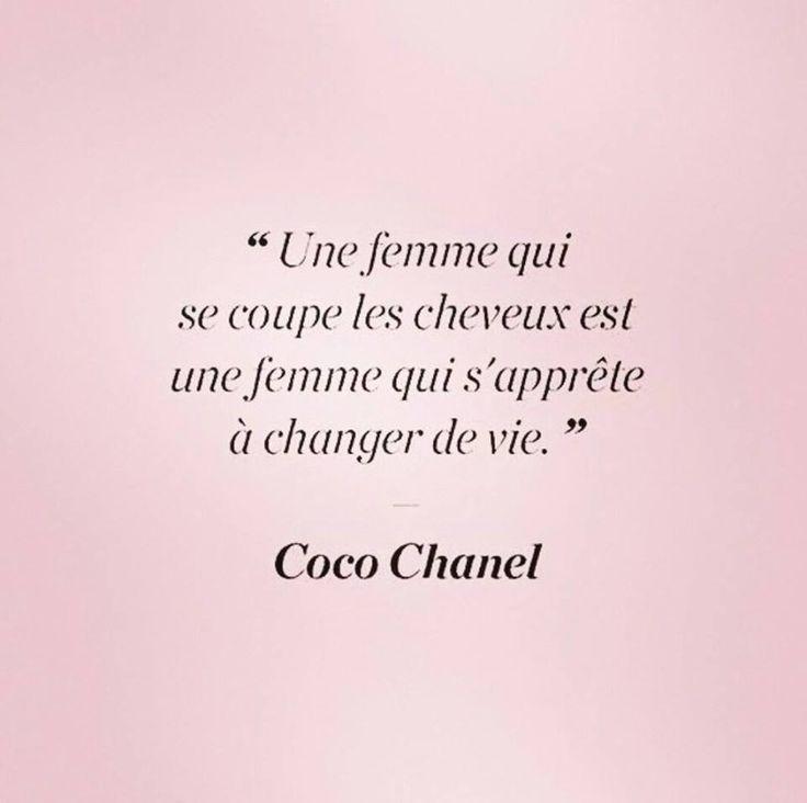 Coco Chanel. Je ne vais pas tarder à y aller je pense ^^