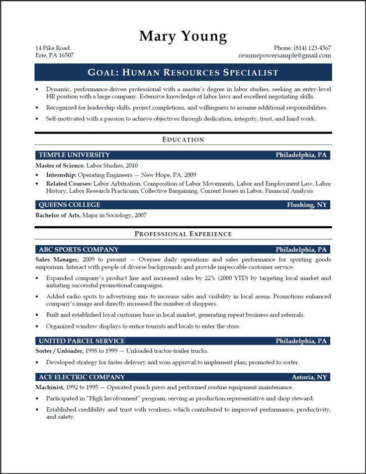 15 Entry Level Project Management Resume Samples | Raj Samples Resumes