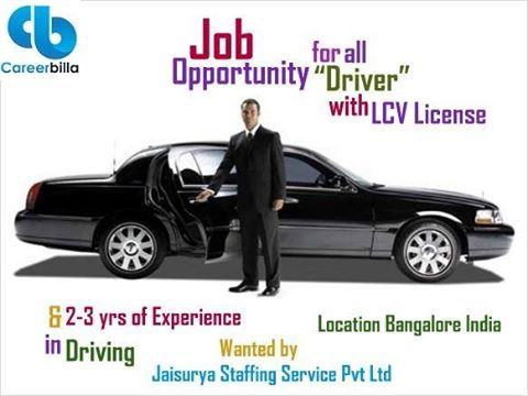 Find driver jobs through careerbilla.com