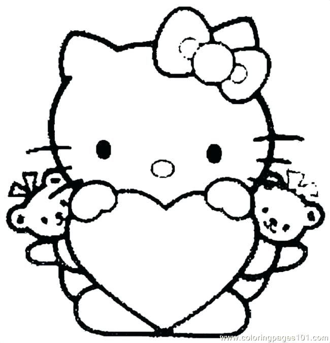 Hello Kitty Coloring Pages Free Online Hello Kitty Coloring Kitty Coloring Hello Kitty Colouring Pages