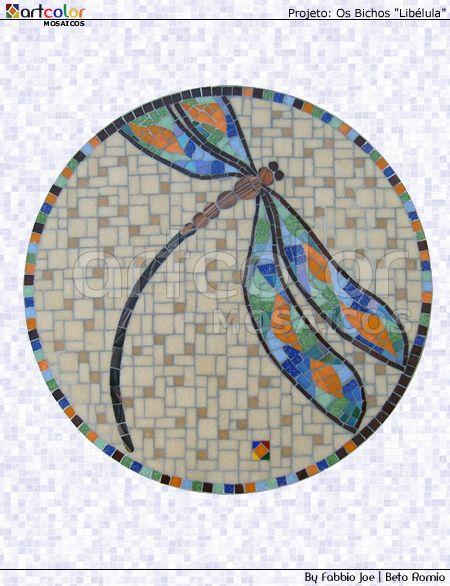 Mosaico - Libélula by Artcolor mosaicos -