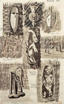 African Art By Uche Okeke