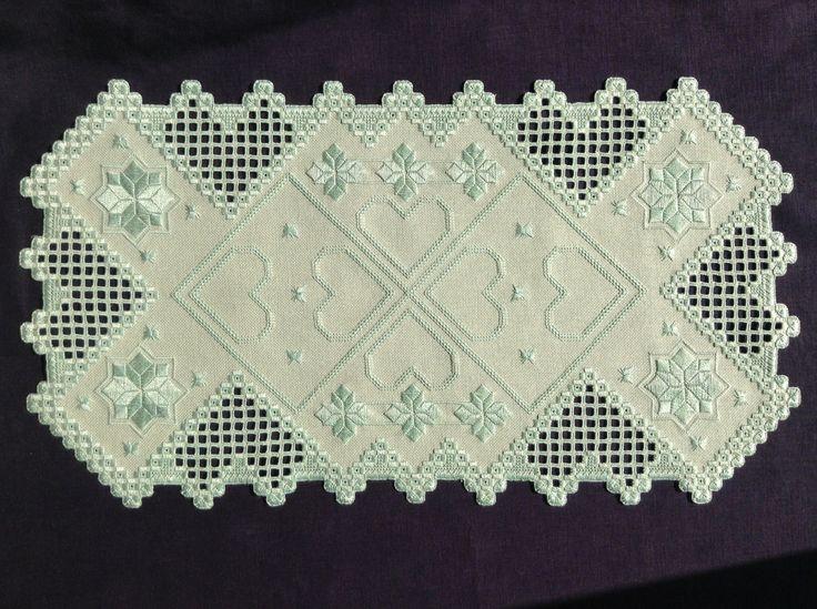 Award-Winning Designs In Hardanger Embroidery 2009 Doris Belozer's RoseRanner I made