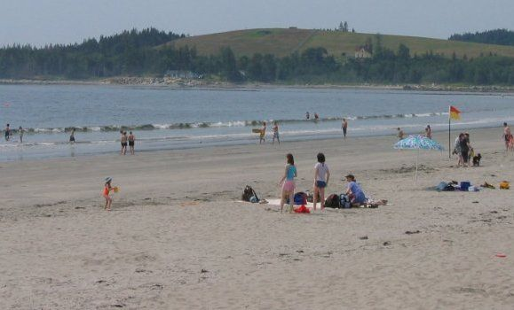 Rissers Beach is located on the South Shore approximately 25 kilometres south of Bridgewater on highway 331. It is located on the Atlantic Coast in Green Bay at the mouth of the Petite Riviere.