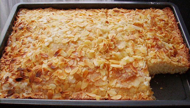 German butter cake is a very easy cake recipe that is ideal if you need to bake a cake fast. Original and authentic German recipe. Happy Baking!