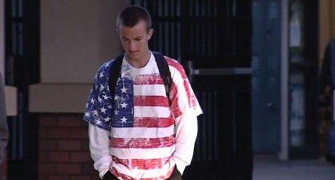 ICYMI: LGBT Shirts Now Trump American Flag Shirts in Public Schools - http://conservativeread.com/icymi-lgbt-shirts-now-trump-american-flag-shirts-in-public-schools/