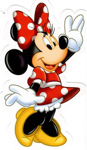 Postcrossing US-1875391 - Bought this Minnie Mouse card at Disneyland. Sent to Postcrosser in China.