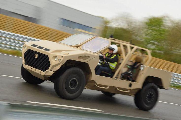 """INGHILTERRA: LE FORZE SPECIALI SI DOTANO DI UN MOTORE MASERATI """"GHIBLI"""" 3000cc turbo diesel 296cv"""