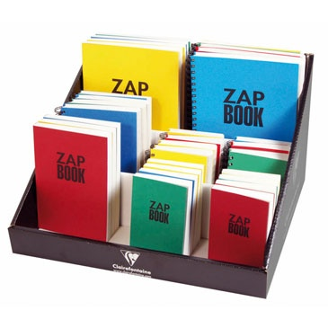 ZAP BOOK Just bought the blue A5 one.
