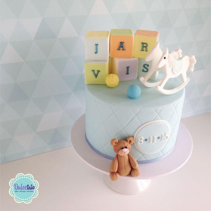 #boybabyshowercake #babyshower #teddy #cake #celebration #sydneycakes #baby #cute #babyblocks #cutecakes