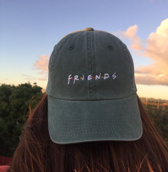 Friends Baseball Caps by DalmatiaCo on Etsy