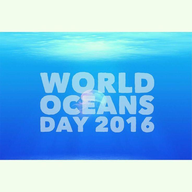Oggi è la Giornata Mondiale degli Oceani. Trattiamoli bene. Sempre. #worldoceansday #mariabrunabeauty