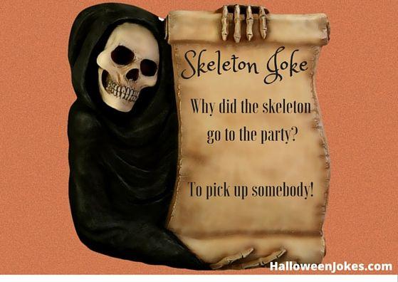 Skeleton Jokes 7 - HalloweenJokes.com