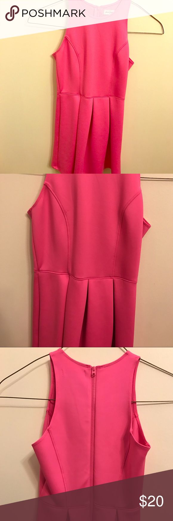 Abercrombie dress Worn once, flattering material on kids!! Awesome fit, plain but adorable! abercrombie kids Dresses Formal
