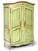 great green patina
