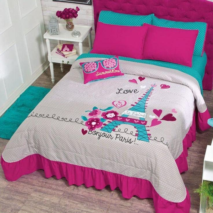Paris Bedspread Set